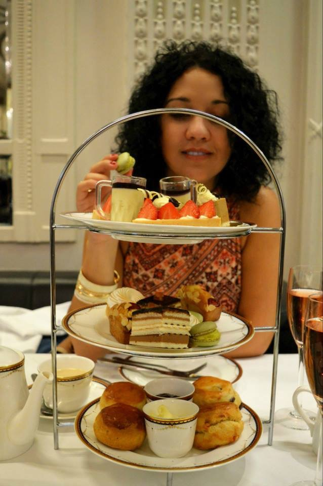 Afternoon tea at The Waldorf Hilton London